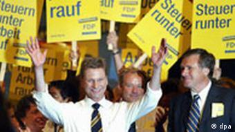 Bildergalerie Wahl05 FDP Parteitag