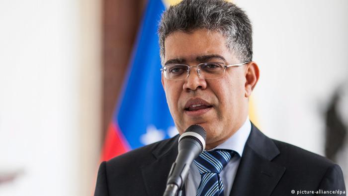 Venezuela Außenminister Elias Jaua (picture-alliance/dpa)