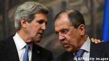 Sergei Lawrow und John Kerry