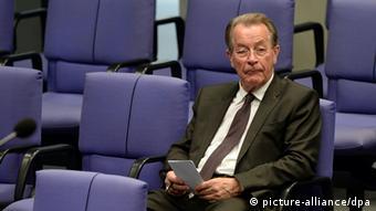 Франц Мюнтеферинг в бундестаге