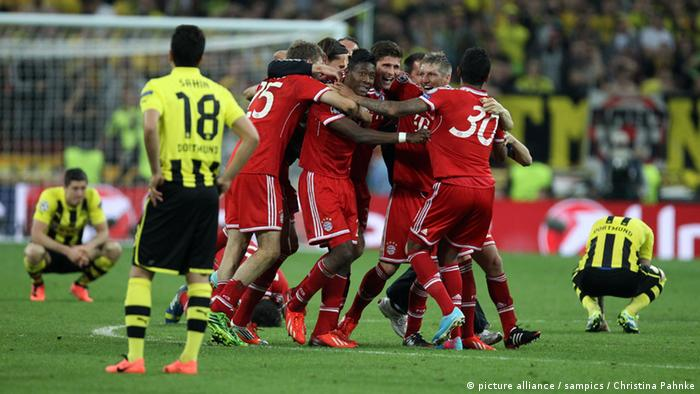 Bayern Munich beat Borussia Dortmund in the 2013 Champions League final (picture alliance / sampics / Christina Pahnke)