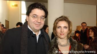 Leon de Winter mit Ehefrau Jessica Durlacher bei der Matinee von SuperTex - Eine Stunde im Paradies im Berliner Cinema Paris pixel