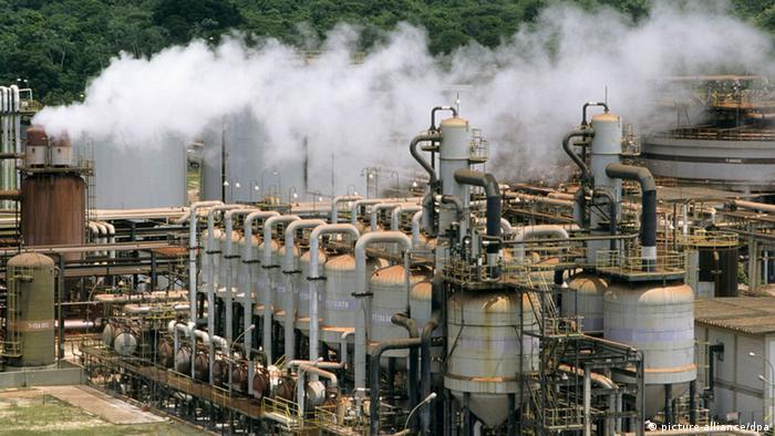Indústria de produção de alumínio no Pará