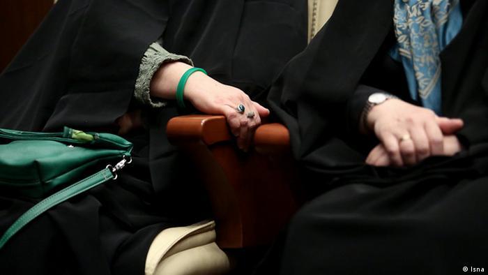 Bildergalerie Iran Masume Ebtekar Amtseinführung Grüne Band