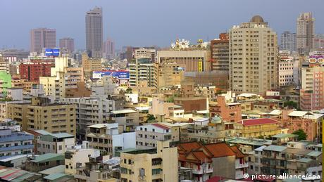 Taiwan Stadt Kaohsiung Hochhäuser