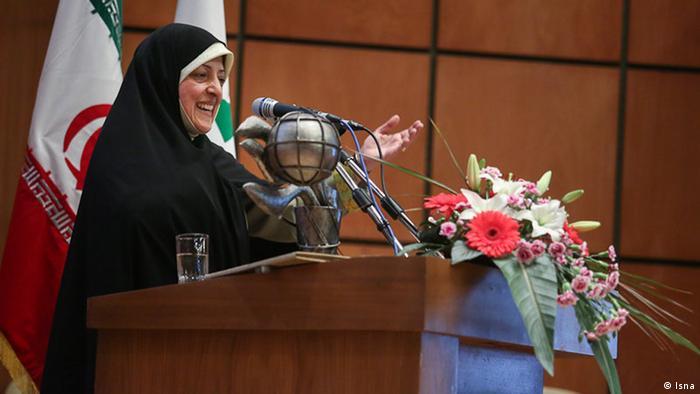 معصومه ابتکار معاون رئیس جمهور و رئیس سازمان محیط زیست ایران
