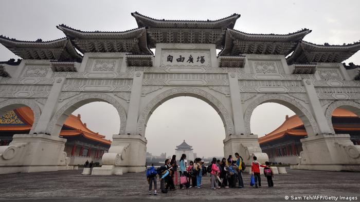 Taipei Chiang Kai-shek Denkmal