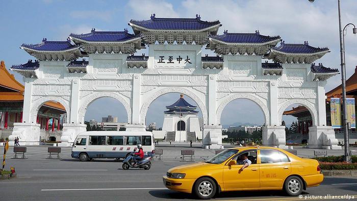 Taiwan Stadt Tschiang Kai-schek-Gedenkhalle