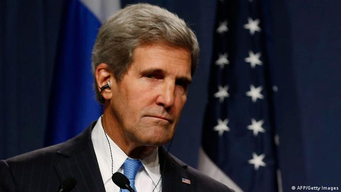US-Außenminister John Kerry in Genf (foto: AFP/Getty Images)