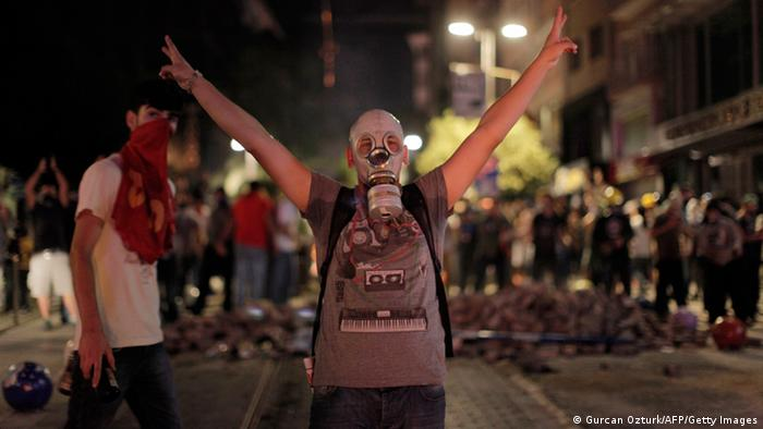 Türkische Demonstranten in Kadiköy in Istanbul (Foto: AFP/Getty Images)