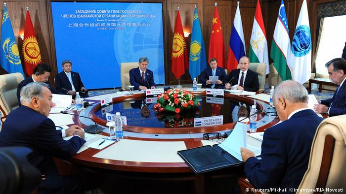 Gipfeltreffen der Organisation der Shanghaier Kooperation in Bischkek 12.09.2013 (Reuters/Mikhail Klimentyev/RIA Novosti)