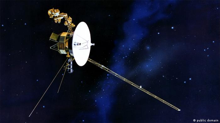 Voyager 1 im Weltall, Photo: NASA