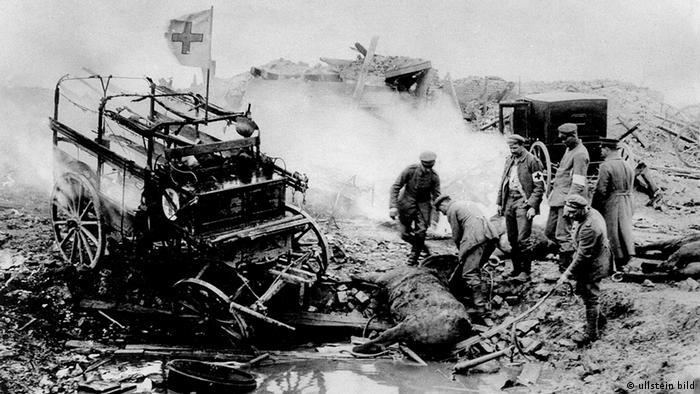 Красный Крест на Западном фронте, 1915 год