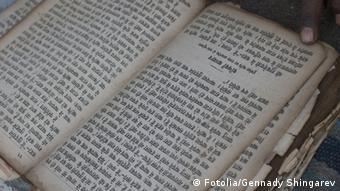Buch Hindi Schriftzeichen