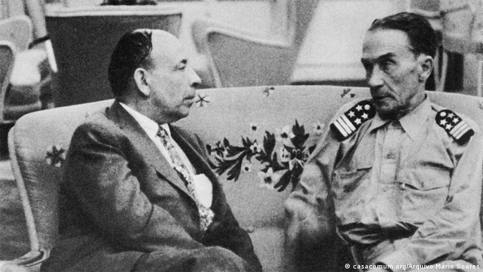 Henrique Galvão und Humberto Delgado