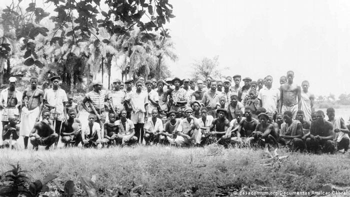 PAIGC Kämpfer auf der Insel Como
