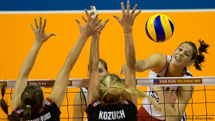 CEV Volleyball European Championship semifinal match. Photo dpa
