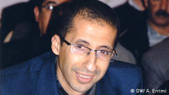 Montasser Hamada, professor in islamic studies. Agadir, Marokko.<br /><br /> Fotograf: Ayoub Errimi, DW arabisch, Korrespondent in Marokko<br /><br /> Stichwörter: Islam, Salafist, Islamist, Morocco.<br /><br /> Aufnahmedatum: Rabat 14, September 2013<br /><br />