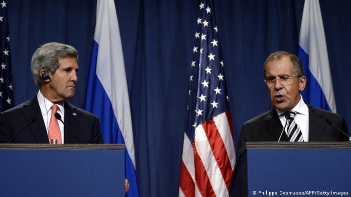 Kerry i Lavrov daju izjve novinarima