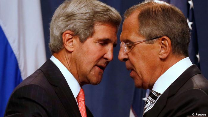 Kerry und Lawrow in Genf