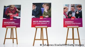 SPD-Wahlplakate (Foto:AFP/Getty Images)