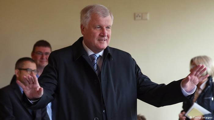 INGOLSTADT, GERMANY - SEPTEMBER 15: Horst Seehofer, Chairman of the Bavarian Christian Democrats (CSU), casts his ballot in Bavarian state parliamentary elections on September 15, 2013 in Ergolfing near Ingolstadt, Germany. The outcome in Bavaria will be seen by many as an important indicator ahead of German federal elections scheduled for September 22. (Photo by Alexander Hassenstein/Getty Images)