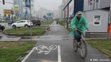Києвом на велосипеді - завдання не для слабких нервів