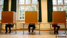 Landtagswahl in Bayern 15.09.2013