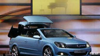 Bildgalerie IAA 2005 Opel Astra Cabriolet
