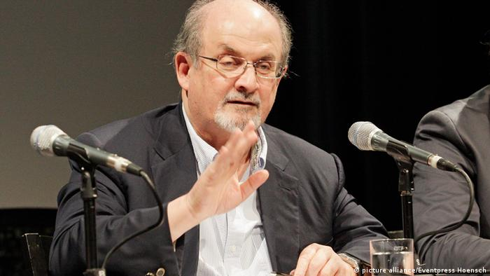 Salman Rushdie Pressekonferenz Literaturfestival Berlin