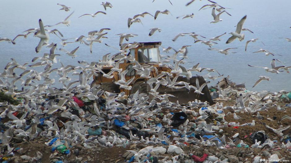 Naxos Mülldeponie Griechenland Müll Abfallwirtschaft Schäbisch Hall Müllkooperation