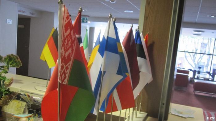 Флаги Беларуси и стран - соседей