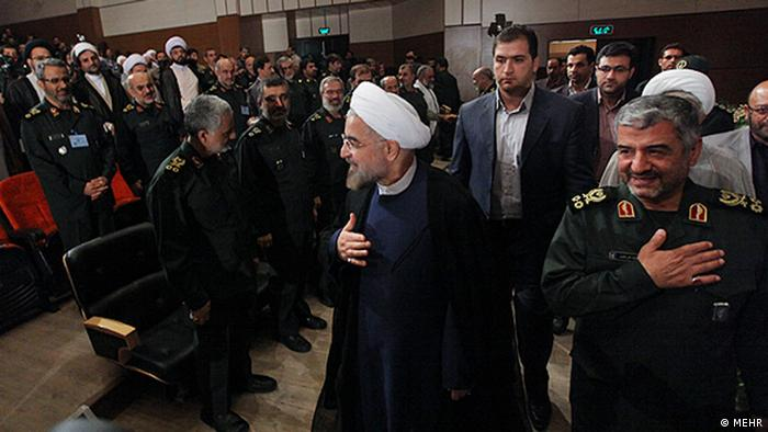 Iran - Kommandeure der iranischen Revolutionsgarden (MEHR)