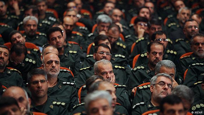 جمعی از فرماندهان سپاه پاسداران در تهران، شهریور ۱۳۹۲؛ عکس از آرشیو
