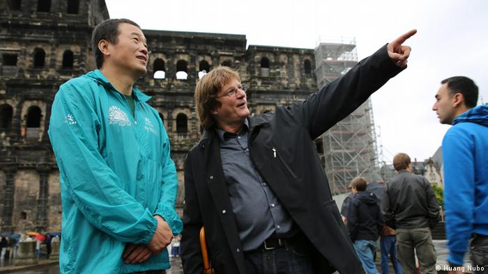 Huang Nubo i Christoph Weiss
