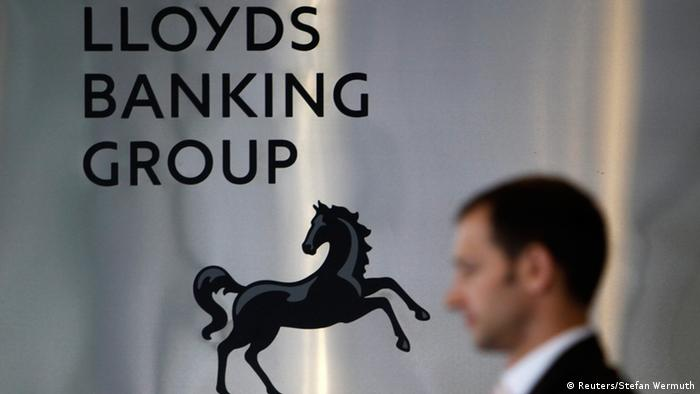 The black horse logo distinguishes Lloyds