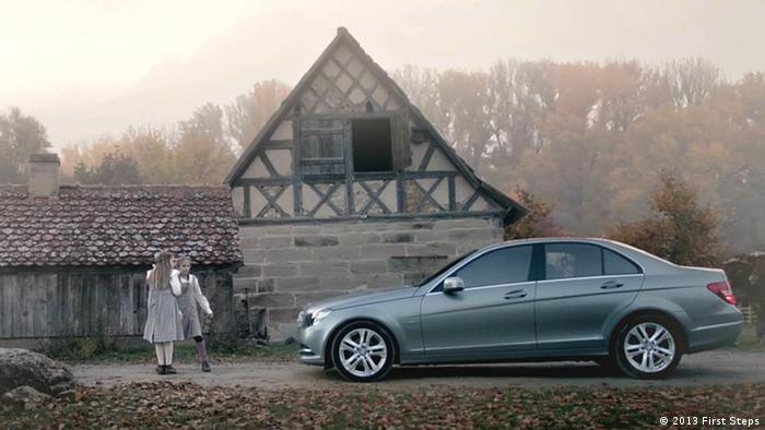 O pseudo-spot da Mercedes conquistou o First Steps Awards 2013