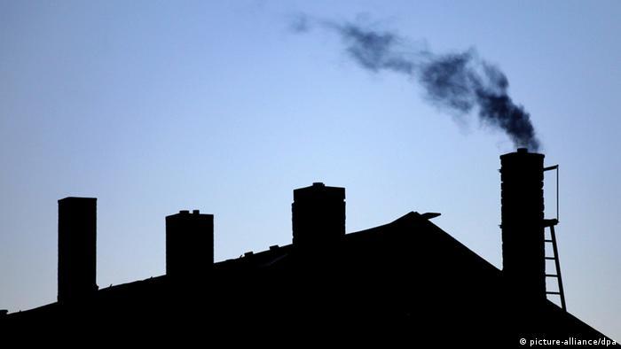 Dach Kamine Rauch