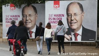 Wahlplakat SPD 2013