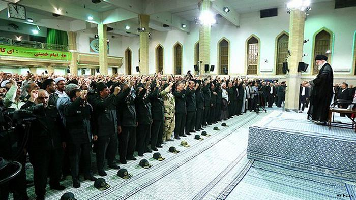 Ali Khamenei Iran Führer Revolutionsgarde (Fars)