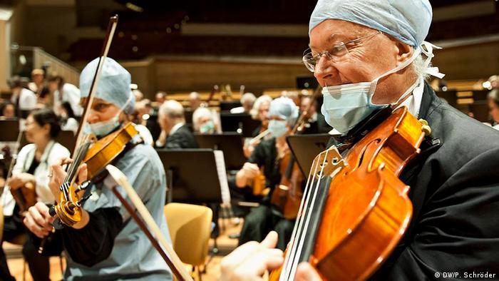 Das World Doctors Orchestra in der Berliner Philharmonie 2012 (Foto:: Peer Schröder)
