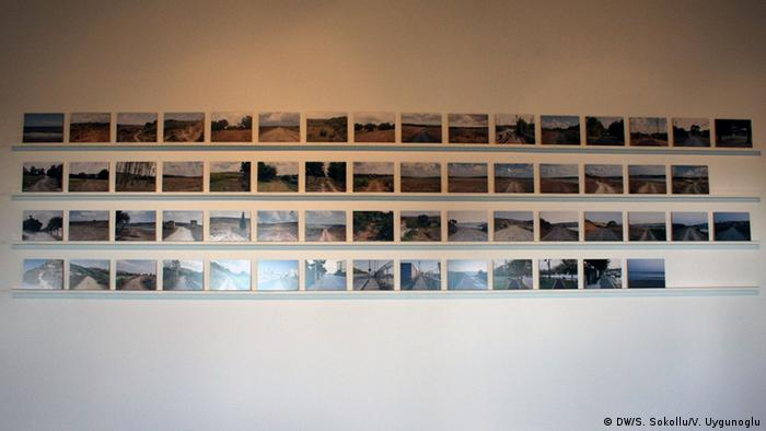 Photos on a wall, documenting the path, Copyright: DW/S. Sokollu/V. Uygunoglu