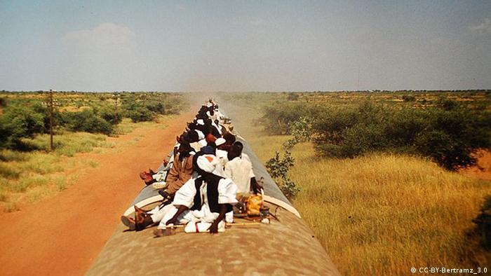 Train in South Sudan. Quelle: http://commons.wikimedia.org/wiki/File:Train_Sudan_towards_Wau.jpg