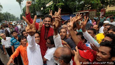 Bangladesch Reaktionen auf Urteil Abdul Quader Mollah 17.09.2013