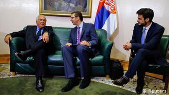 Dominique Strauss-Kahn in Serbien 17.09.2013