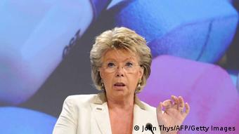 EU justice, fundamental rights and citizenship commissioner Viviane Reding Photo: JOHN THYS/AFP/Getty Images