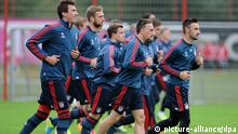 Champions League - Training FC Bayern München