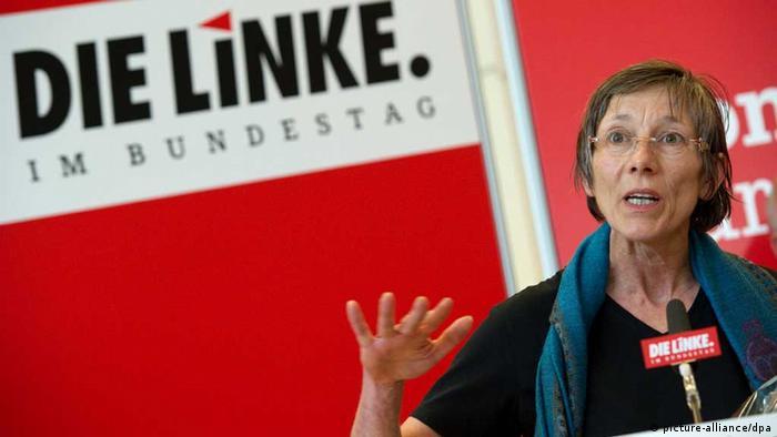 Die Linkspartei-Politikerin Annette Groth (Foto: dpa)