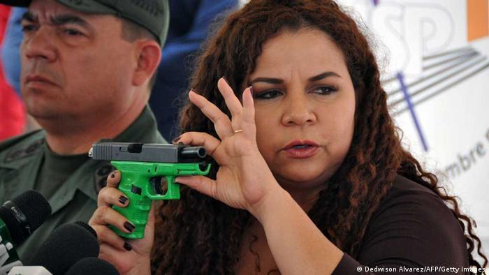 Iris Varela (Dedwison Alvarez/AFP/Getty Images)