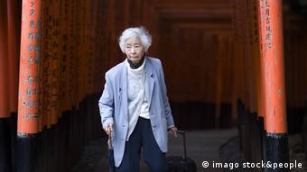 Japan Frau Alter